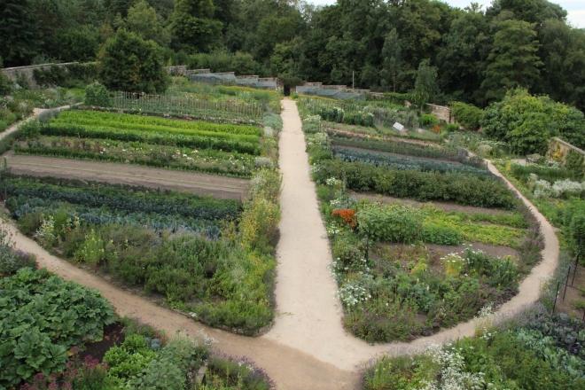 Gravetye kitchen garden