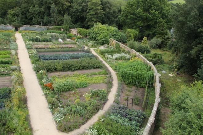 Gravetye Manor Kitchen Garden