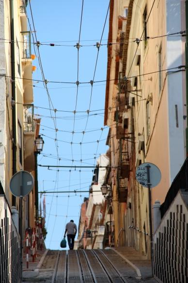 Lisbon sidestreet