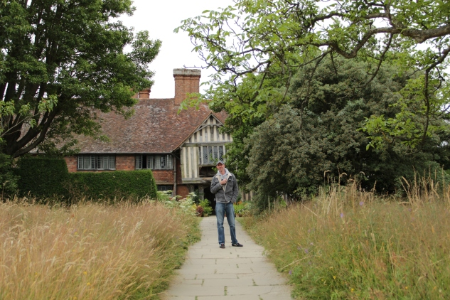 Stephen at Great Dixter, 2013