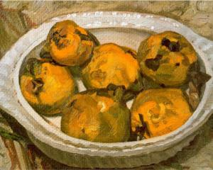 Still Life (Quinces) by Lucian Freud