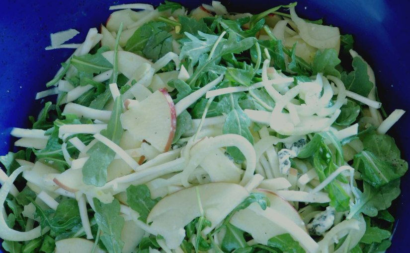 Crunchy Apple, Fennel, and Celery RootSalad