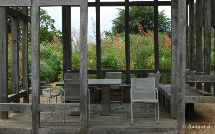 Dichotomy of a Modern Garden: Bury Court