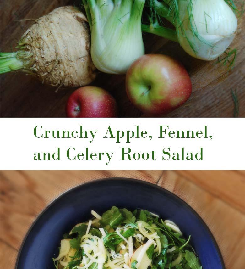 Horizontal Salad Collage