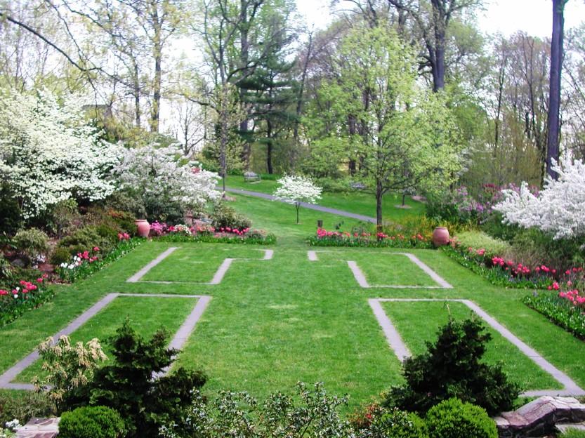 azalea garden at Reeves-Reed Arboretum