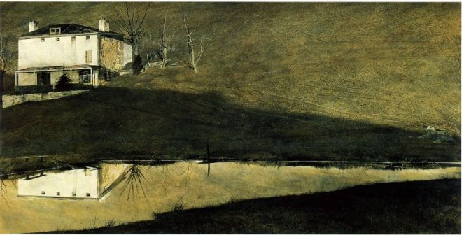 Brown Swiss by Andrew Wyeth