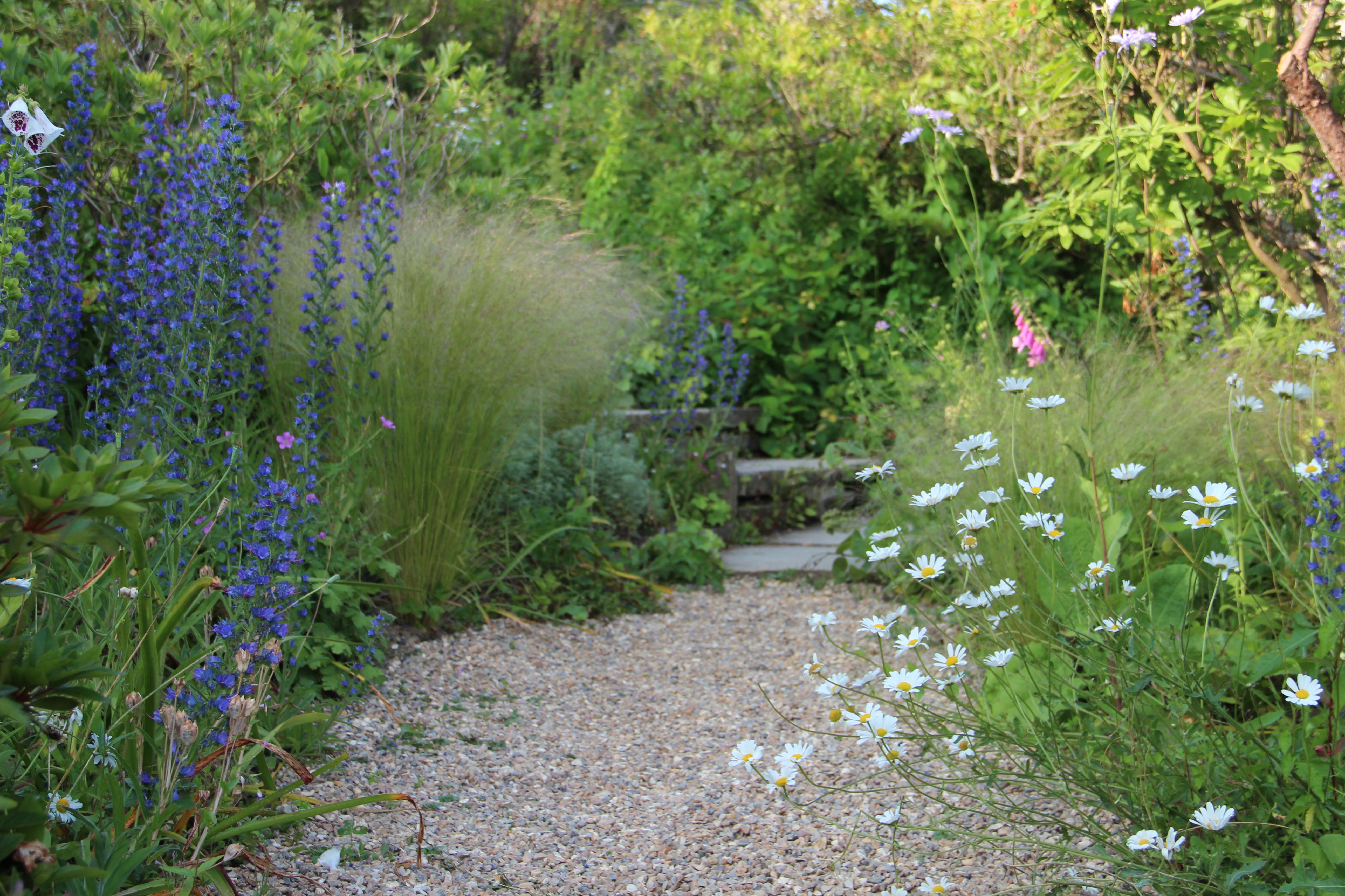 The right direction plinth et al for Informal garden designs