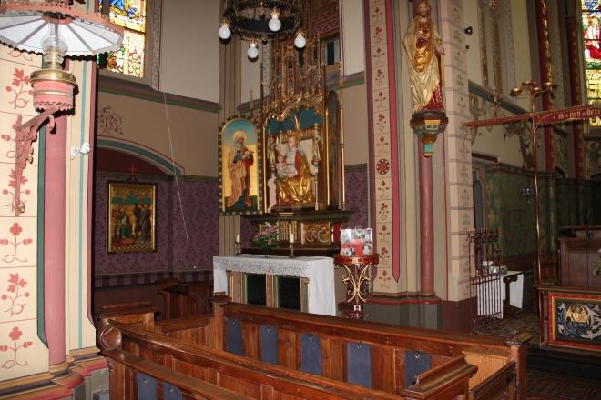 Church interior detail