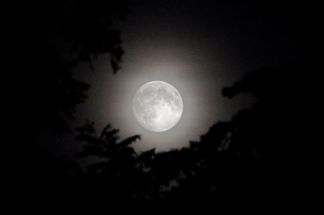 Super moon from Saturday night