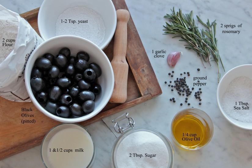 Black Olive Rosemary