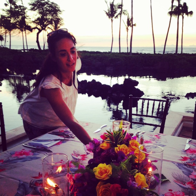 Grace Martinelli a horticulturist, floral and garden designer