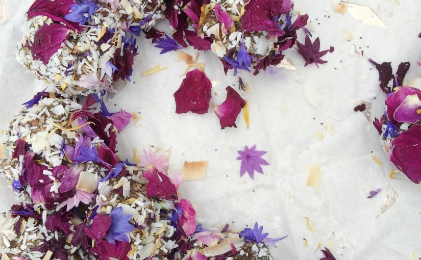 Floral Friday: Petal-coveredSweets
