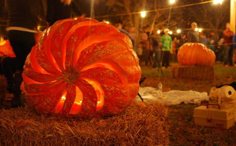 The Great Pumpkin Carve in Chadds Ford, Pennsylvania