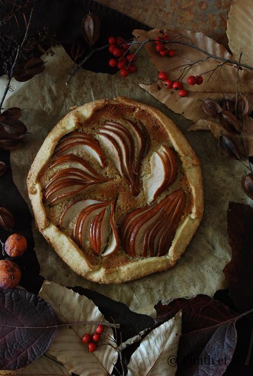 Holiday Fruit Desserts: Pear Hazelnut FrangipaneGalette