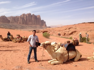'Field Work and Wadi Rum: Camel Pic: RBG hosted tour of Wadi Rum with Ecological