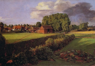 Goulding Constable's Flower Garden (courtesy of Wikipaintings)