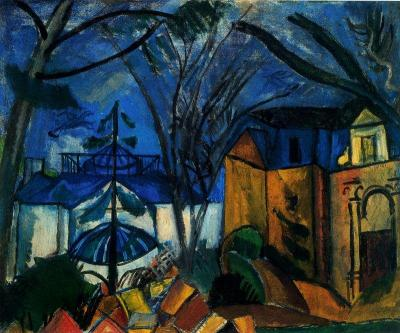 The Botanical Garden by Raoul Dufy